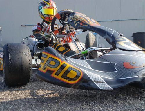 1° test per LA Motorsport